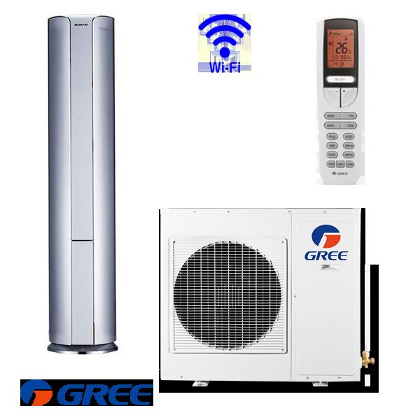 Колонен климатик Gree